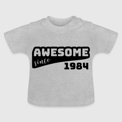 Awesome Sinds 1984 / Birthday-shirt - Baby T-shirt
