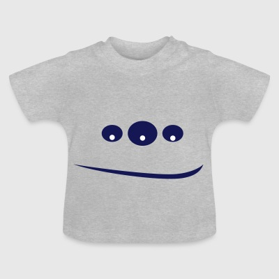 Monster in 3 ogen - Baby T-shirt