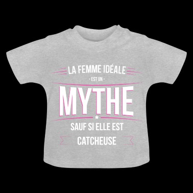 Catcheuse femme ideale Catcheuse - T-shirt Bébé