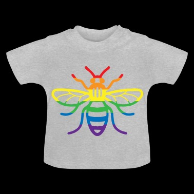Gay Pride Bee - Baby T-shirt