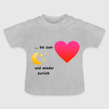 To the moon - Baby T-Shirt