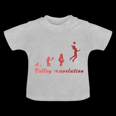 Volley-ball (r) évolution - T-shirt Bébé