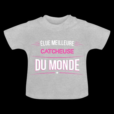 Catcheuse t shirt drole pour Catcheuse - T-shirt Bébé