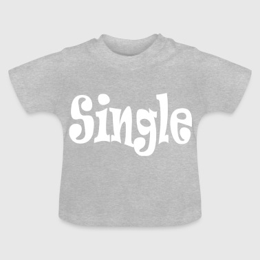 single White - T-shirt Bébé