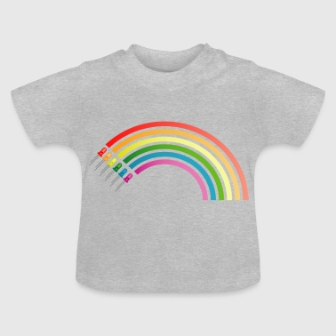 LED - Regenbogen - Baby T-Shirt
