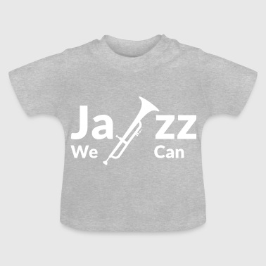 JAZZ WE CAN - blanc - T-shirt Bébé