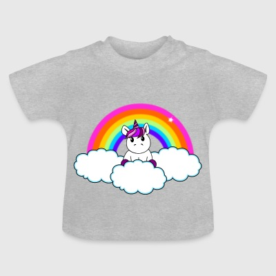 Rainbow Unicorn - Baby-T-shirt