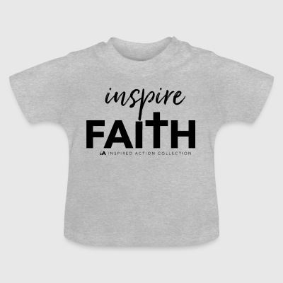 inspirera faith black - Baby-T-shirt