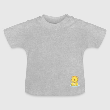 Lila The Lion - T-shirt Bébé