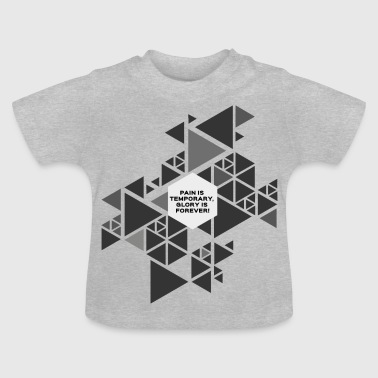 triangles - Baby T-Shirt