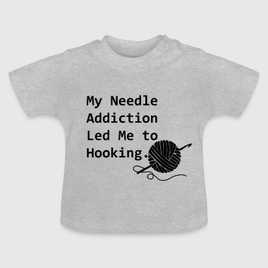 nålen Addiction - Baby-T-shirt