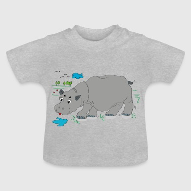 Hippo eng - Baby T-shirt