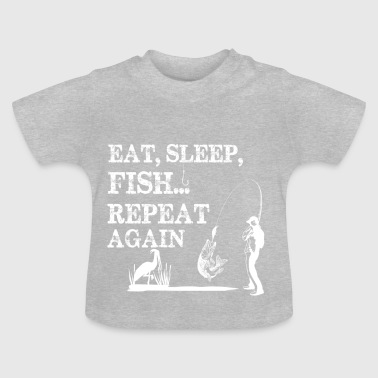 PÊCHE EAT sleap - T-shirt Bébé