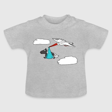 Flying Jolfur - Camiseta bebé