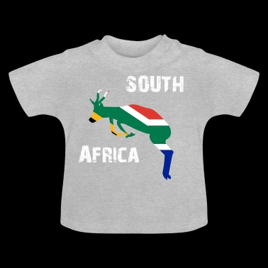 Nation Design South Africa Springbok Wyv - Baby T-Shirt