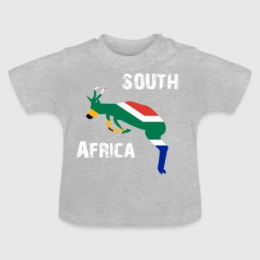 Nation Design Soth Africa Springbok - Baby T-Shirt