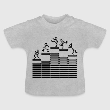 Dance on Equalizer T-shirts Bébés - T-shirt Bébé