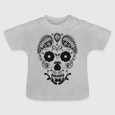 Skull decorative - Baby T-Shirt
