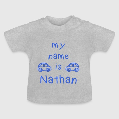 MY NAME IS NATHAN - Baby-T-skjorte