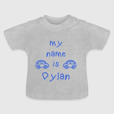 DYLAN MY NAME IS - Baby-T-skjorte