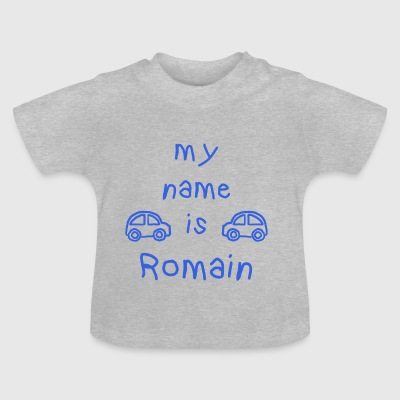 MEIN NAME IST ROMAN - Baby T-Shirt