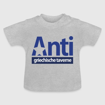 Anti StarLogo Blue-versie - Baby T-shirt