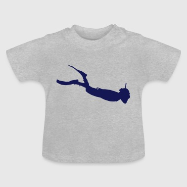 Watersports silhouet 3 - Baby T-shirt