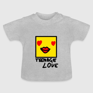 Self Picture Girl: Teenage Love - Baby T-Shirt