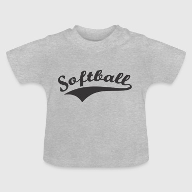 Softball - Baby T-Shirt