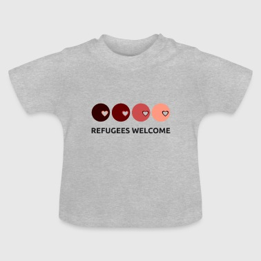 Refugees Welcome | refugees welcome - Baby T-Shirt