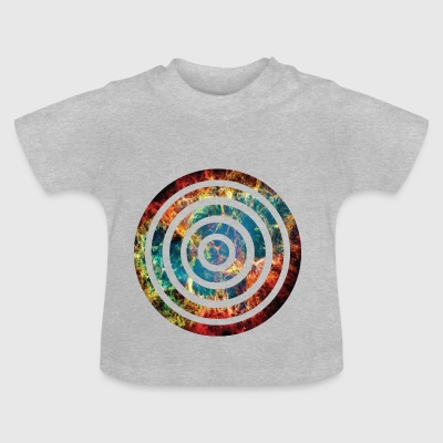 round rings with explosion - Baby T-Shirt