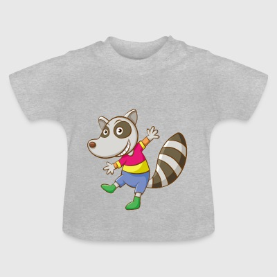 Diseño animal divertido - Camiseta bebé