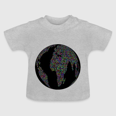 World globe - Baby T-Shirt