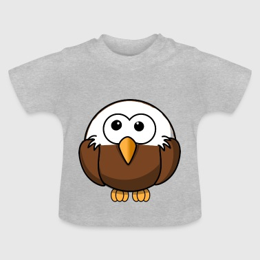 Eagle with bald comic style - Baby T-Shirt