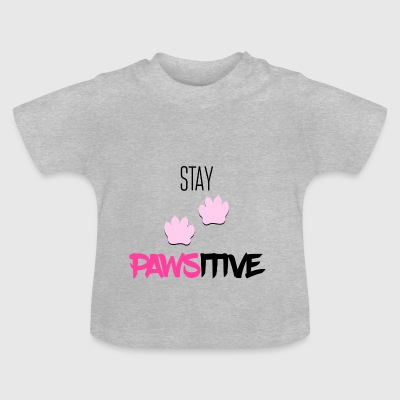 stanna pawsitive - Baby-T-shirt