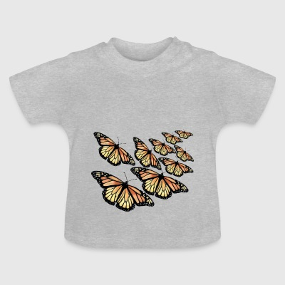 Monarch Butterfly - Swarm - Baby T-Shirt