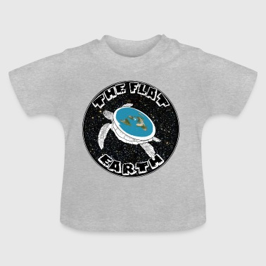 Flat earth - Baby T-Shirt