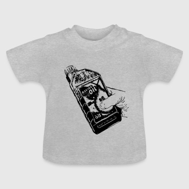 Racing olie 1 - Baby T-shirt