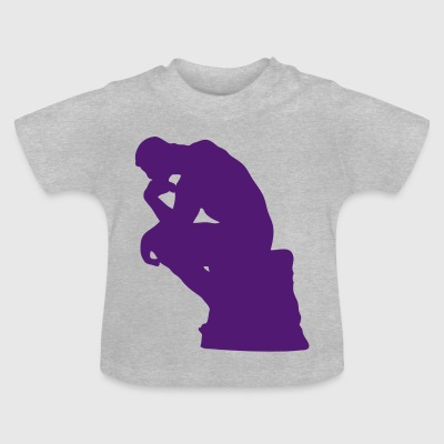 purpple Penseur - T-shirt Bébé
