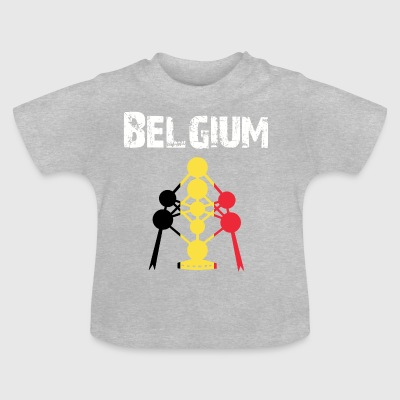 Nation conception Belgique - T-shirt Bébé