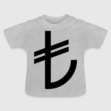 Turkish Lira Currency TL - Baby T-Shirt