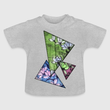 Magnolia farve - Baby T-shirt
