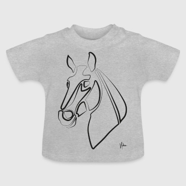 horses view - Baby T-Shirt