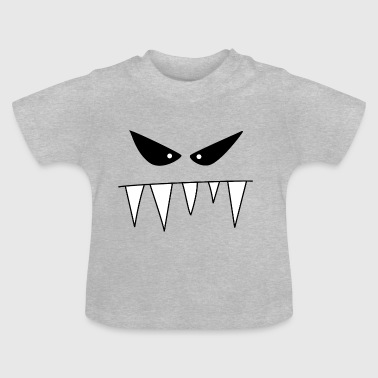 Monstre méchant - T-shirt Bébé
