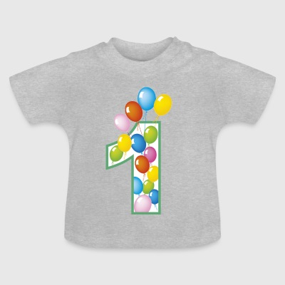 First birthday - Baby T-Shirt