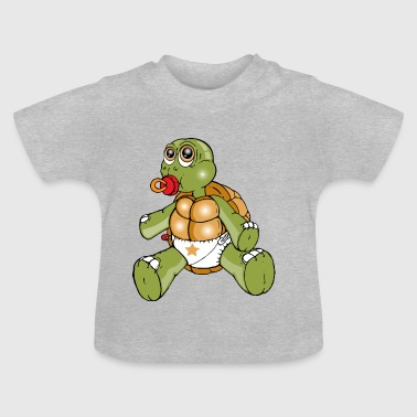 TURTLE PEUTER - Baby T-shirt