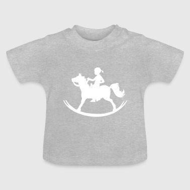 Rocking Horse Girl - Baby T-Shirt