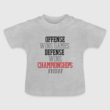 Offense wins gamesrevolution wins championships - Baby T-Shirt