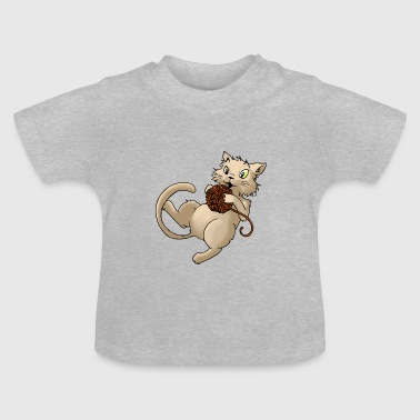 Cat wol bal wol Kitty Dier Huisdieren - Baby T-shirt