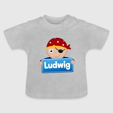 Little Pirate Ludwig - Baby-T-shirt